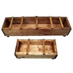 Mangiatoia tradizionale in legno per pollame TATA