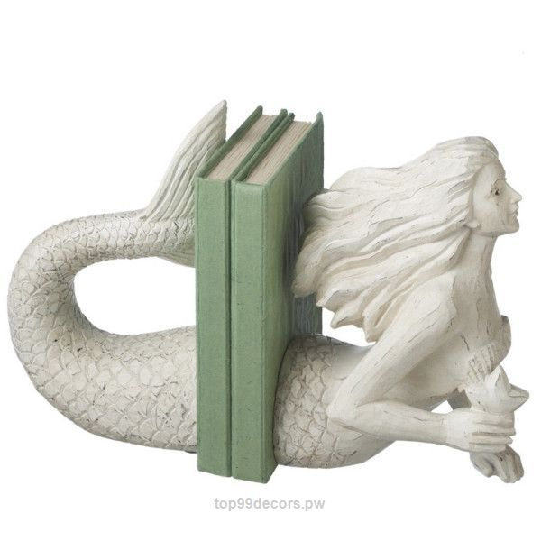Adorable Dot & Bo Mermaid Tales Bookends found on Polyvore  The post  Dot & Bo Mermaid Tales Bookends found on Polyvore…  appeared first on  Home Decor .