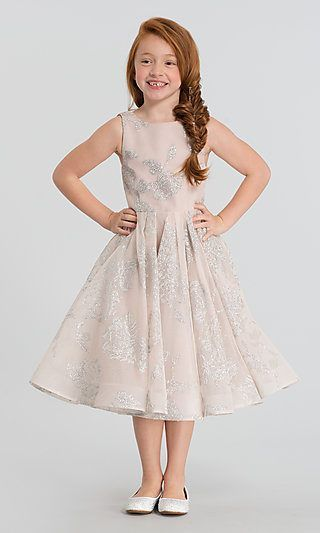 fdbf0ad724 La Petite by Hailey Paige Charlie Flower Girl Dress