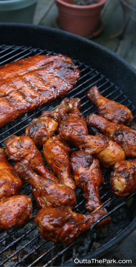 Neighborhood Block Party Make Your Bbq Chicken Amp Ribs Outta The Park Click For 3 Easy Tips To