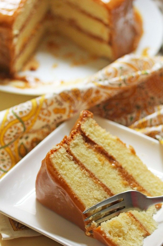 The best Caramel Cake Ever- The Real Deal!