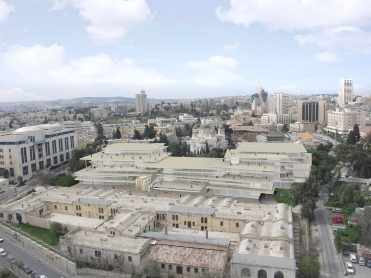 SANAA Unveils Plans for New Downtown Arts  Design Campus in Jerusalem