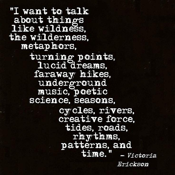 speaking in tongues - victoria erickson