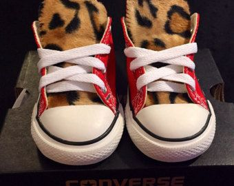 Leopard Converse Shoes Mommy and Me Pack by LoveChuckTaylorsKids