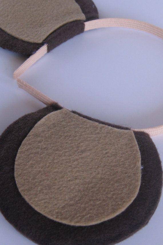 Monkey Ears Headband by PlaytimeProps on Etsy