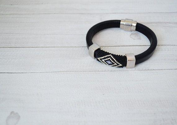 ON SALE  Men's braided bracelet strap bracelet for by SzkatulkaAmi