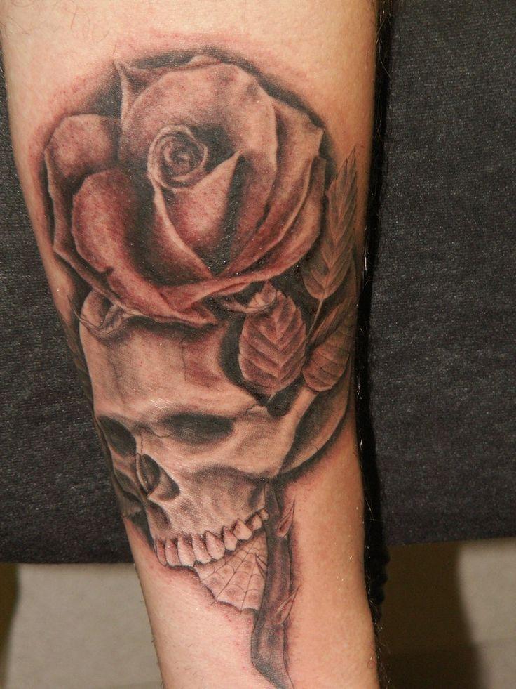 skull tattoo 4 skull rose «Skull «Tatto on body «Tattoo pictures ...