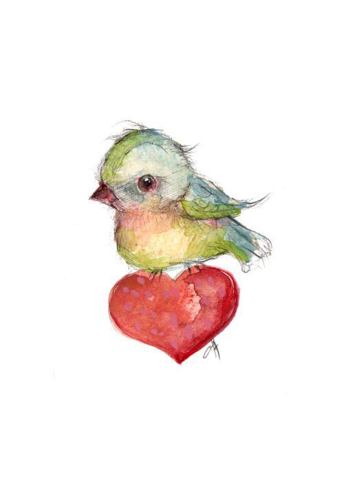 bird valentine (by ppinkydolls)
