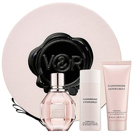 Mother's Day Gift Ideas: Viktor & Rolf Flowerbomb Gift Set  #sephora #mothersday