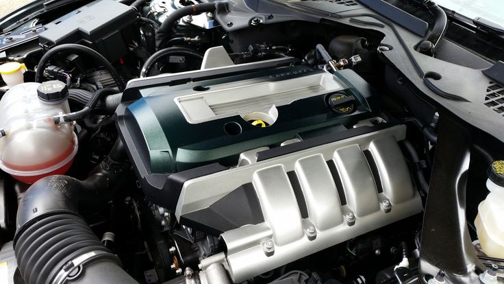 Ford Ecoboost engine cover.