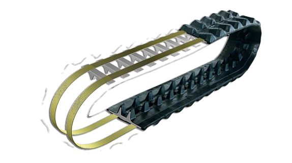 Rubber Tracks Plus stock a comprehensive range of #steeltracks for 2 to 8 Tonne #excavators. our steel Tracks are manufactured to OEM standards using the most modern forging methods achieving high durability and long life.