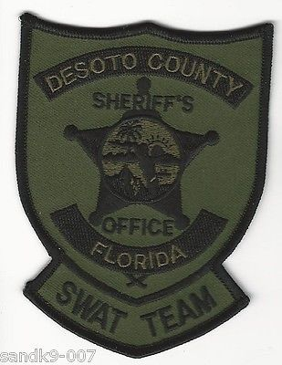 SWAT-SRT-Desoto-County-Sheriff-State-of-Florida-FL-Shoulder-Patch