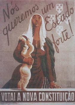 Cartaz de Almada Negreiros para o plebiscito constitucional de 1933