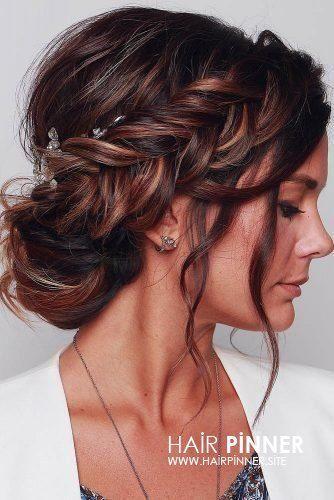 Frisuren Hochzeit | 30 Wedding Hairstyles 201 – #f…