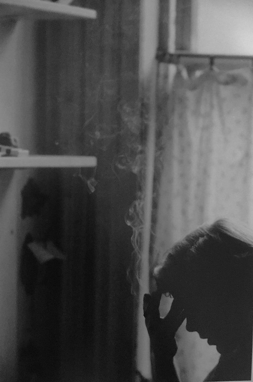 Saul Leiter, Smoking, 1949