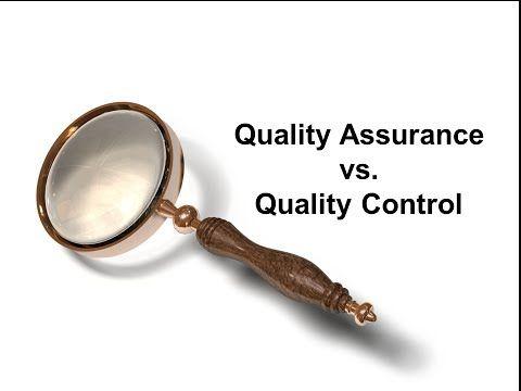 Quality Assurance vs. Quality Control - YouTube