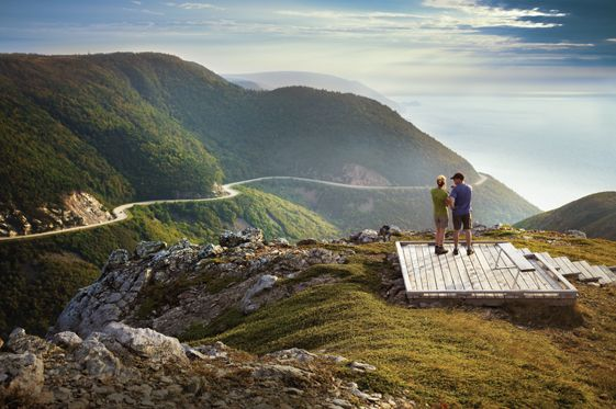 The Cape Breton Highlands National Park contains some of the most celebrated scenery in North America. The Cabot Trail weaves through the pa...