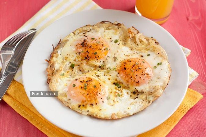 Яичница слуком http://amp.gs/zyzw  #foodclub #рецепт #вкусно #завтрак