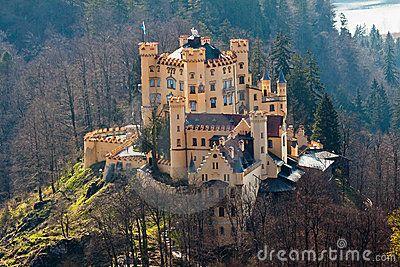 Hohenschwangau Castle Fussen Germany