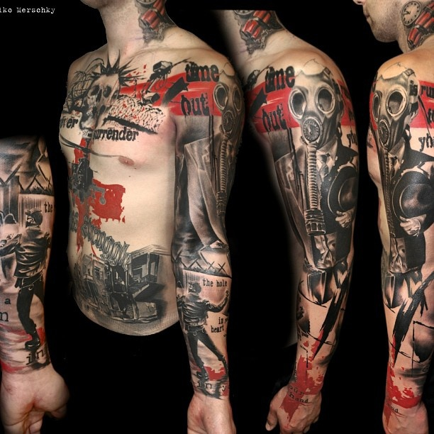 Tat By Volko Merschky, Buena Vista Tattoo Club, Germany.
