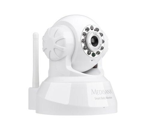 Medisana 52345 Smart Baby Monitor, Audio- und Videoüberwachung mit dem iPhone, iPad, iPod touch, PC oder Mac