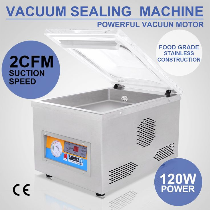"370W 22"" Commercial Vacuum Sealer Food Sealing Machine Packaging Electic Storage"