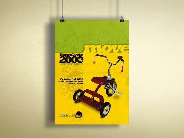 Print Design:Bicycle Trade Association of Canada Poster - Flink Creative