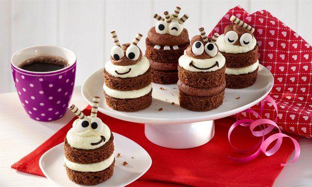 Kleine Schmunzel Tortchen Rezept Kuchen Und Torten Torten Rezepte Und Lecker