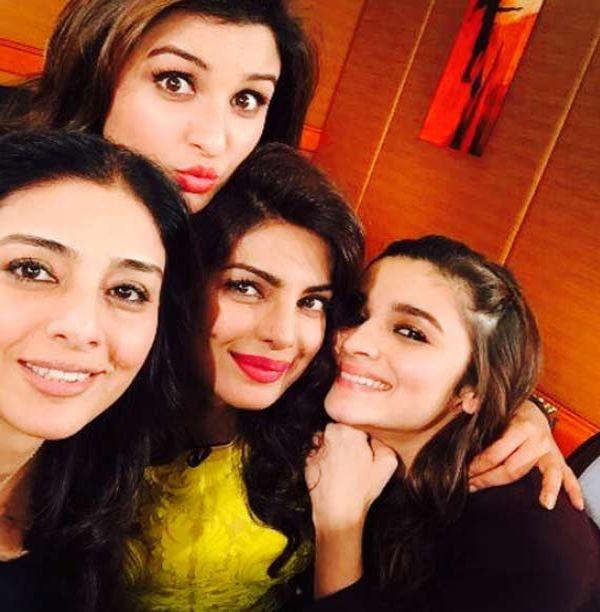 Bollywood Actresses Selfie Pics