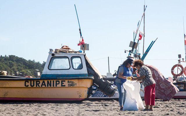 200 kilos de basura se recolectan en playa de Curanipe -  El balneario de la región del Maule fue el escenario escogido por el programa de limpieza de playas Voluntarios Por El Océano de Corona x Parley. Durante la jornada se lograron recolectar más de 200 kilos de basura.  La actividad contó con la participación de la SEREMI de Medio Ambiente ONGs locales y cerca de 30 voluntarios de la zona.  Febrero de 2017.- La playa Grande de Curanipe fue el lugar escogido por Voluntarios Por El Océano…