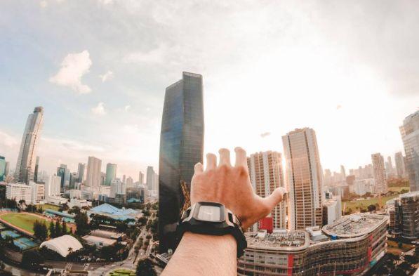 Big city dreams.  Courtesy of @andiiiih