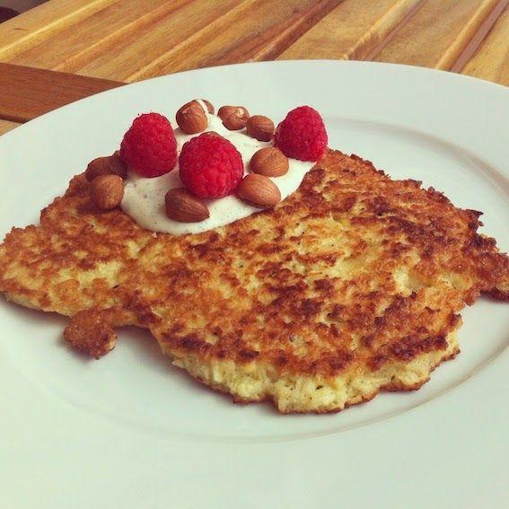 #LCHF LCHF-hverdag: morgenmad: Søde kokosæg