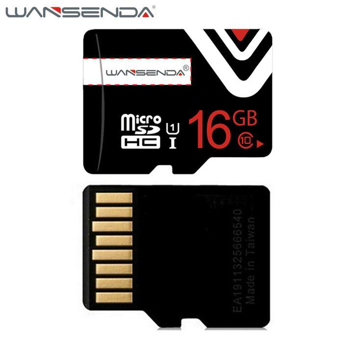 Wansenda tarjeta de memoria de 64 gb 32 gb 16 gb 8 gb 4 gb tarjeta sd micro clase 6 Clase 10 TF Tarjeta Microsd para el Teléfono Inteligente