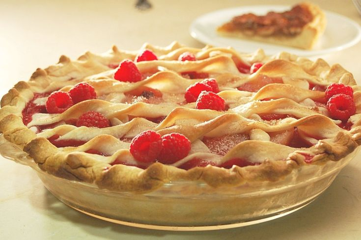 Raspberry, Rhubarb And Pear Pies | Delicious! | Pinterest