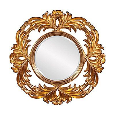 Save 87%- Howard Elliott Collection 56052 Antonia Round Mirror