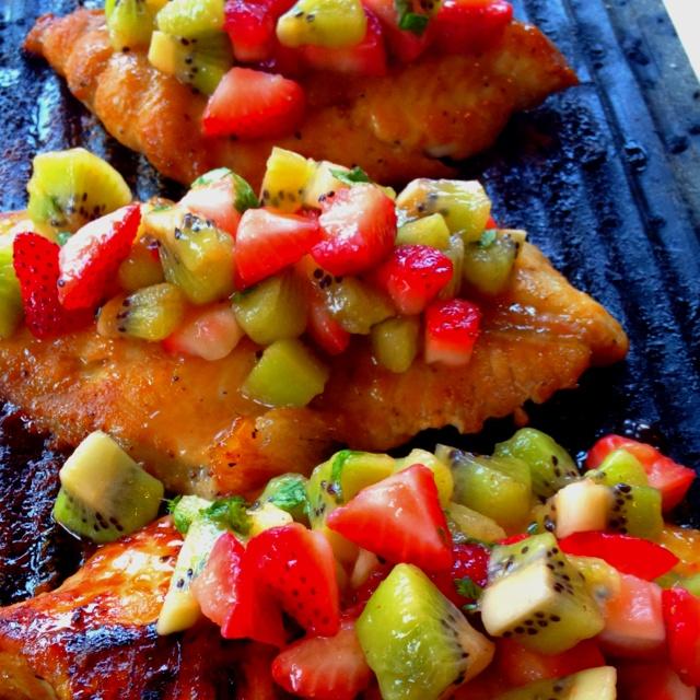 Kiwi, Salsa and Mango on Pinterest