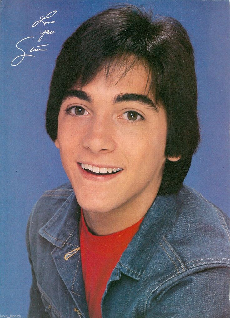 "Scott Baio Happy Days Chachi Teen Boy Actor 11"" X 8"