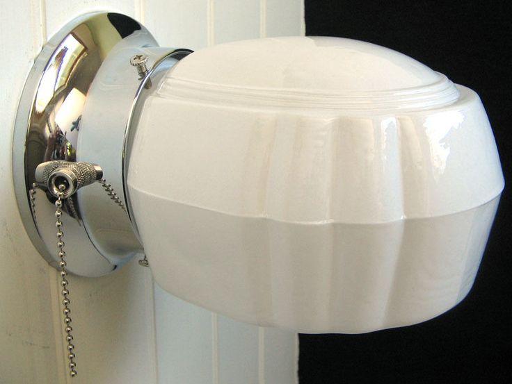 Details About Vintage Antique White Porcelain Wall Sconce