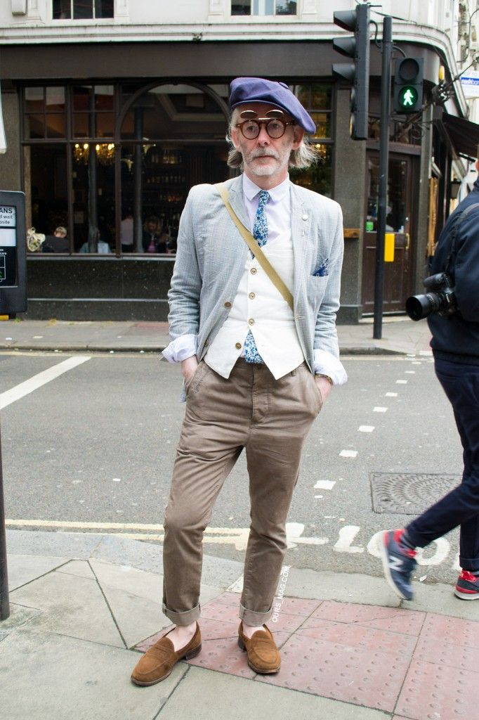This street style look proves that style has no age limit!