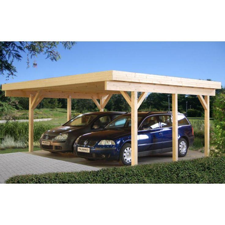 carport double toit plat - Recherche Google