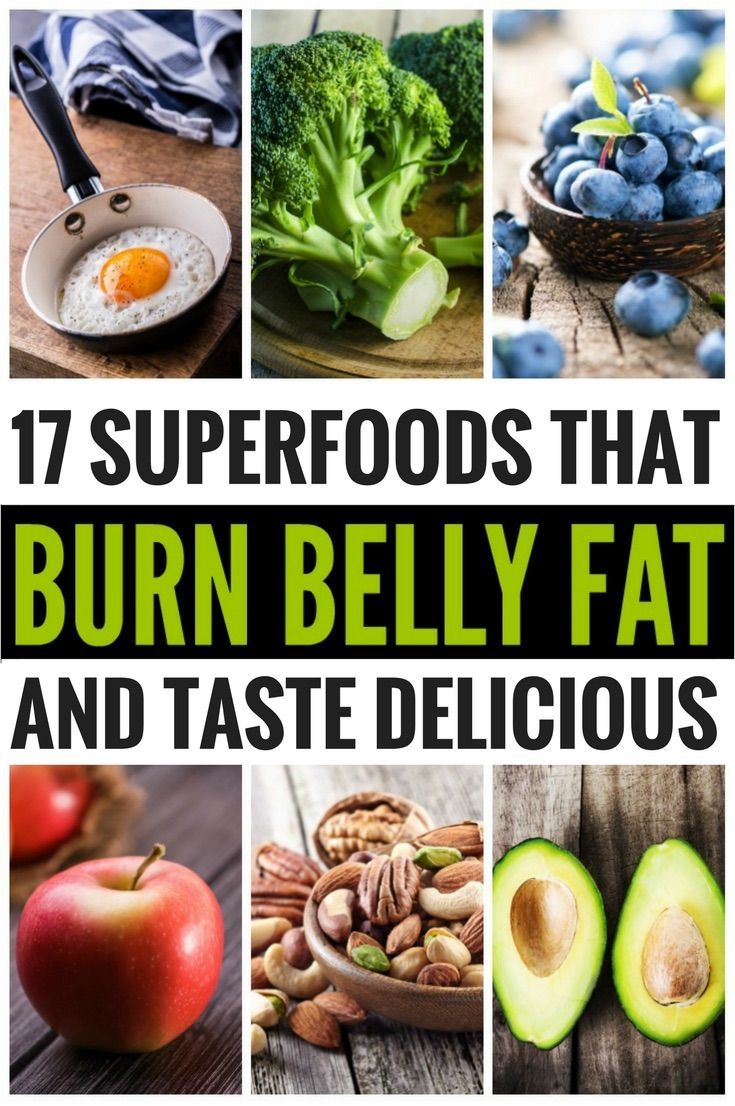 Lose weight with these 17 superfoods that are effective for burning fat - and taste good at the same time.