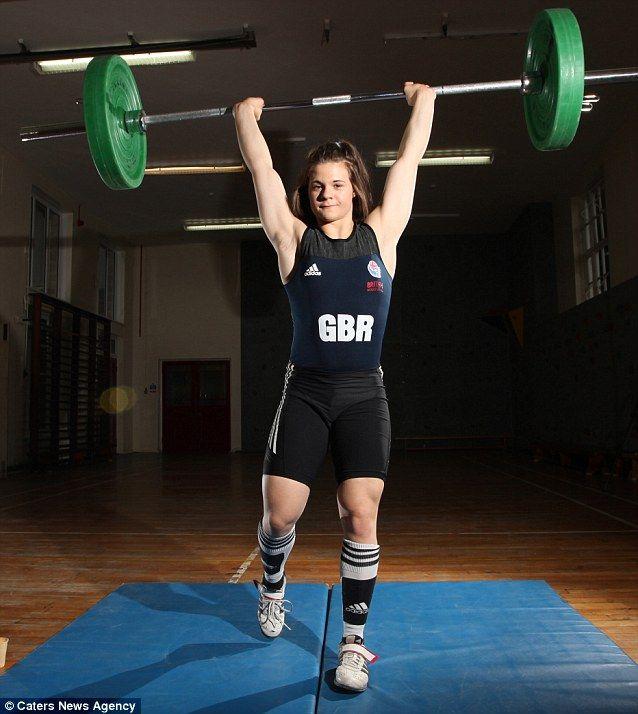 Rebekah Taylor - Weightlifting.