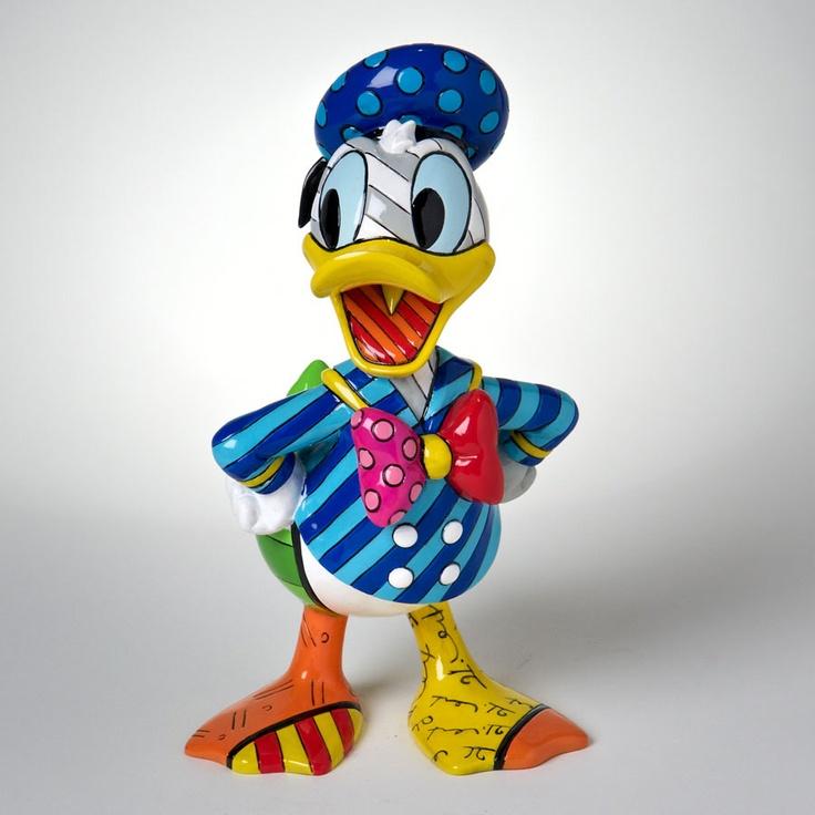 Donald Duck 8 Figurine(4023844) (Dopey by Britto)