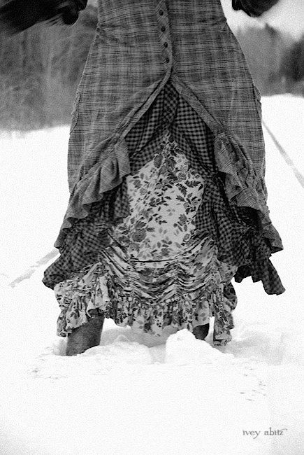 Layered jacket and frocks that work great in the snow. Ivey Abitz 2014 Winter Spring Adventure Image No. 13