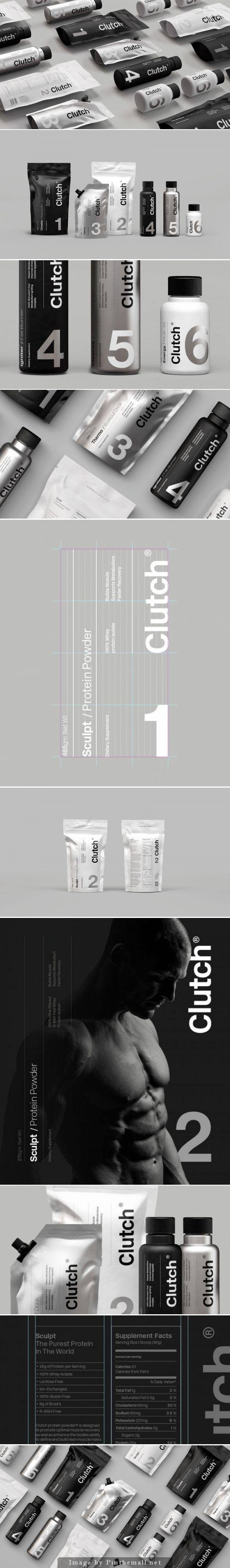 Clutch packaging. Forget the package give me this 6 pack (LOL) curated by Packaging Diva PD created via http://sociodesign.co.uk/clutch-bodyshop/