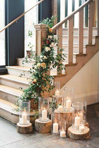 church wedding decorations romantic candles rachael jeff colleton river wedding photographyIrby