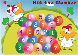 Addition Game - Hit the Number (Online Interactive Version)