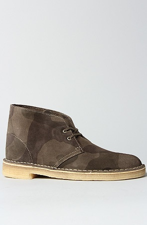 Clarks Originals The Desert Boot in Green Camo : Karmaloop.com - Global Concrete Culture