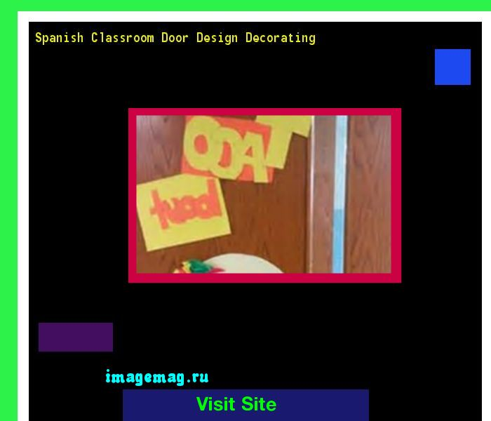 Spanish Classroom Door Design Decorating 142704 - The Best Image Search