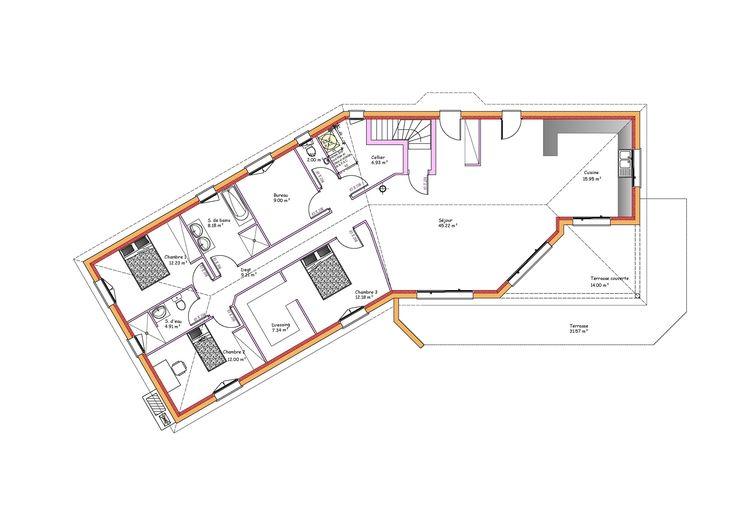 Mod Les Et Plans De Maisons Mod Le De Plain Pied